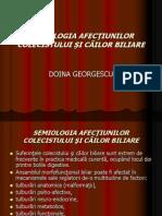 SEMIOLOGIA AFECTUNILOR COLECISTULUI