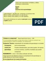Evaluacion- Santos Guerra