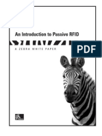 An Introduction to Passive RFID