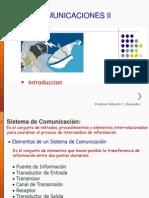 Tema Del Curso de Comunicaciones II Introduccion