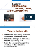 The Production Possibility Model, Trade, And Globalization