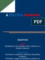 Aula 2 - A Política Moderna