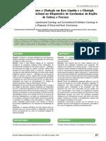 Citologia Base Líquida vs Citologia Esfoliativa (B-on)