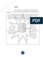 Distributed Computing Report