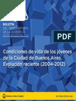 Boletín del Observatorio de la Juventud Año 2 Nro. 4