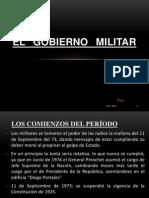 El Gobierno Militar