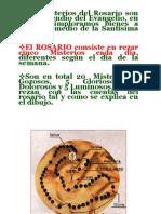 Rosario de La Virgen Tercero de Primaria