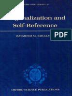 Raymond Smullyan, Diagonalization and Self-Reference