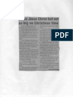 christmas opinion columns