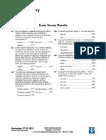 PPP Texas Poll 2013