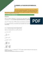 UNIDAD 3 Analicemos La Funcion Exponencial y Logaritmica.
