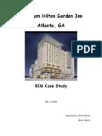 Case Studt Hilton Garden Inn Atlanta HimesAquariumBIMreport