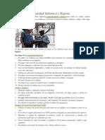 10 Reglas de Seguridad Industrial e Higiene