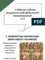 Płeć w kulturze, cz.1