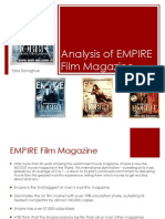 Analysis of Empire Film Magazine