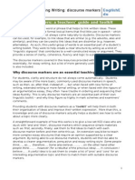 Discourse Markers Toolkit