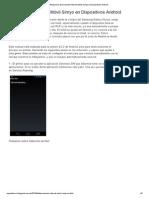 Desconexión Internet Móvil Simyo en Dispositivos Android
