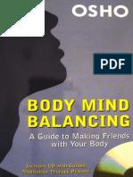 Body Mind Balancing - OSHO