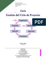 Manual Ciclo Proyecto