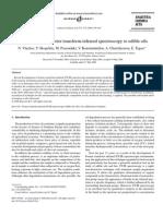 Fourier Transform-Infrared Spectroscopy to Edible Oils
