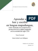 Leer y Escribir Mapudungun