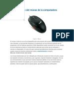 Mantenimiento Del Mouse de La Computadora