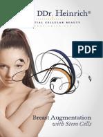 Ddrheinrich Breast Augmentation With Stem Cells