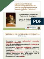 CP en Pacientes No Oncológicos