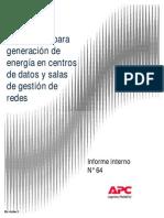 Tecnologías alternativas para generación de energía en centros de datos y salas de gestión de redes
