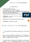 MODELO GENERATIVO DE J.A. GREIMAS
