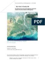 Evidence Based Environmental Policy and Management 1
