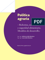 Publicaciones Politica Agraria