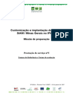 modelo de orçamento de serviço de TI