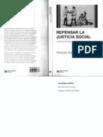 Dubet- Repensar La Justicia Social