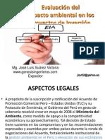 1- CAPACITACIÓN EVALUACIONES DE IMPACTO AMBIENTAL