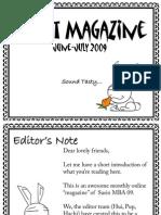 Rabbit Magazine Issue 1 June-July 2009