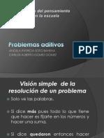 Problemas aditivos-presentación