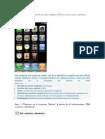 Configurar Correo Corporativo en iPhone
