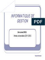 Informatique de Gestion II Mail1