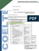 Caracteristicas Equipos - Subestacion Mocoli
