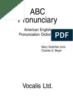ABC Pronunciary