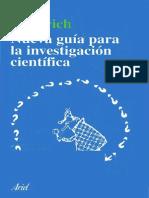 Nueva guía para la investigación científica - Dieterich