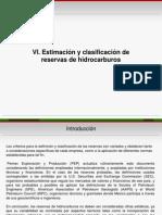 ESTIMACION Y CLASIFICACION DE HIDROCARBUROS