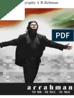 Biography a R Rehman