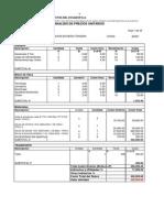 Costos Unitarios Ampliacion S-e Mocoli