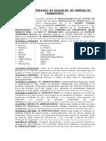 Contrato de Aquiler TRANSPORTE