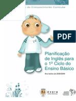 Planificação de Inglês