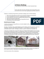 Energy Efficiency and Historic Buildings Article