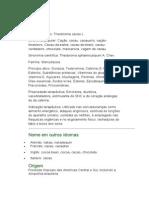 Cacau - Theobroma cacao L. - Ficha Completa Ilustrada