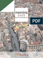 Memoria 2005 Bcn